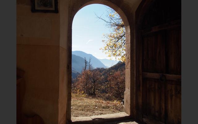 Ausblick von der Kirche