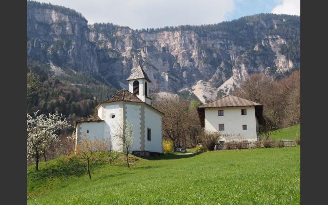 Die Kirche von Gaid beim Moarhof