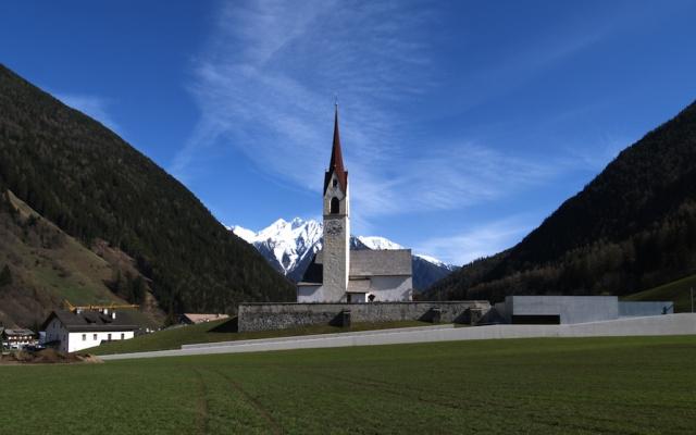 Friedhofserweiterung Luttach von EM2 Architekten