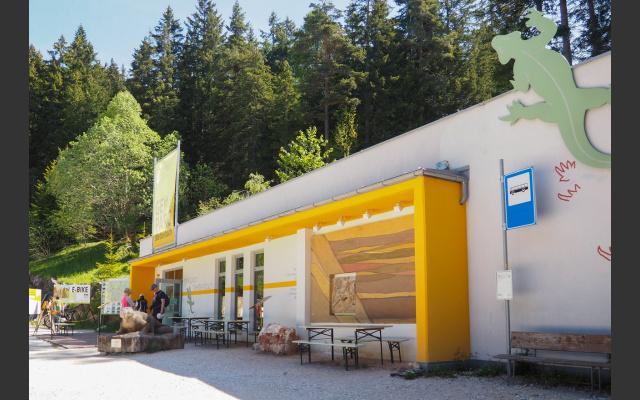 Das Besucherzentrum Bletterbach