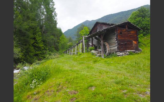 Alte Wassermühle am Winnebach