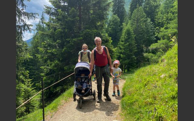 Wanderweg - Familie