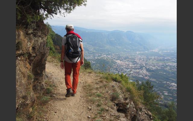 Unvergleichliches Panorama am Felsenweg