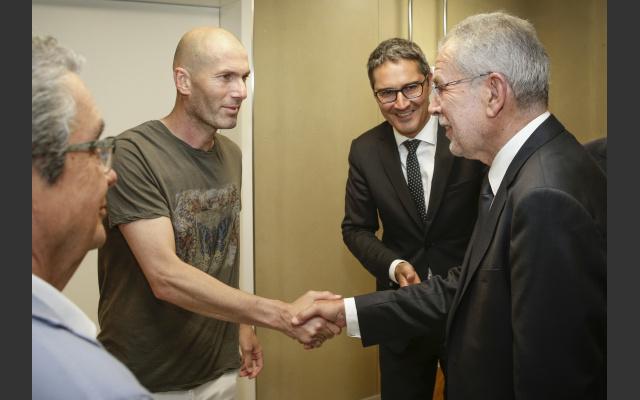 Zidane, Kompatscher, Van der Bellen
