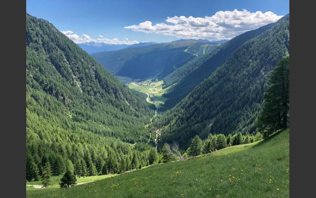 Blick übers Valsertal