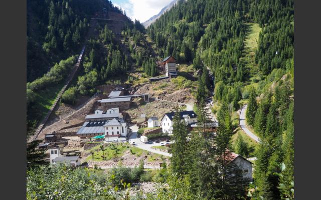2_Das einstige Bergwerksgelände und jetzige Museum