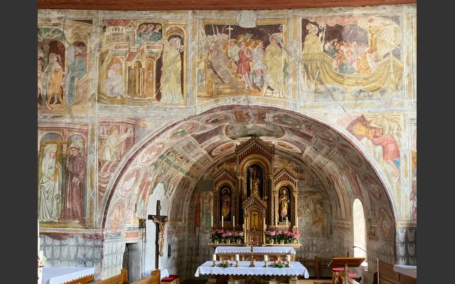 3 - die Nikolauskirche - Ein Schatzkasten mit wertvollen Fresken
