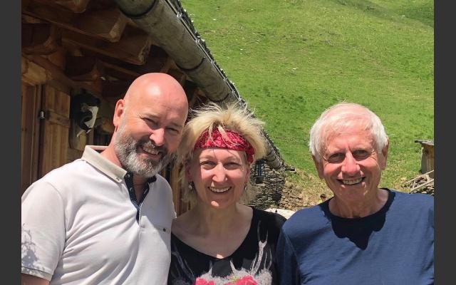Armin, Cornelia und der Autor