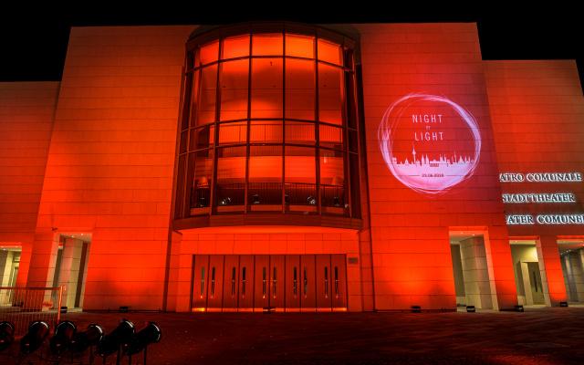 Night of Light: Stadttheater Bozen