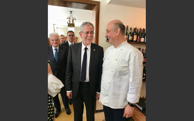 I Presidenti e Andrea Fenoglio