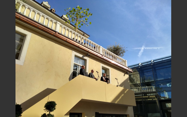 Ivo Muser benedice Palais Campofranco