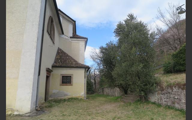 Kapelle mit Oliven