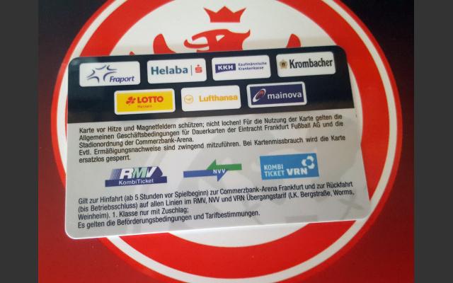 Kombiticket FC Frankfurt - Rhein Main Verkehrsverbund