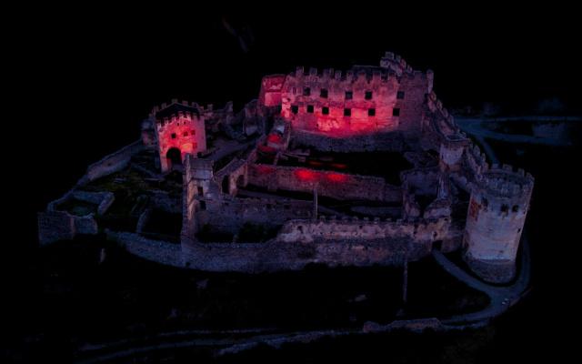 Night of Light: Burgruine Lichtenberg Prad