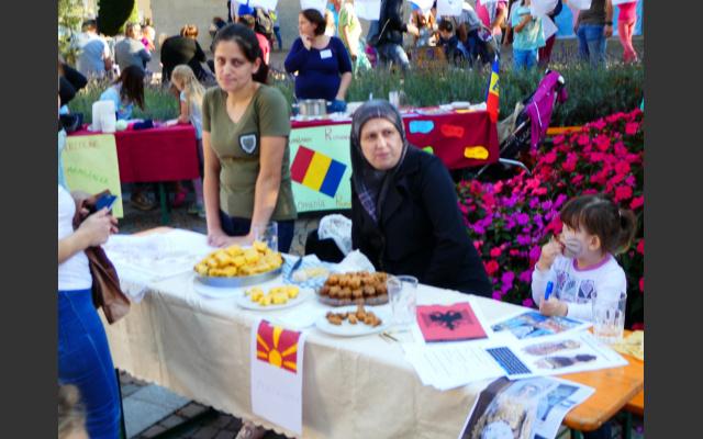 Mazedonien Stand