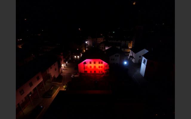 Night of Light: Dorfzentrum Sarnthein
