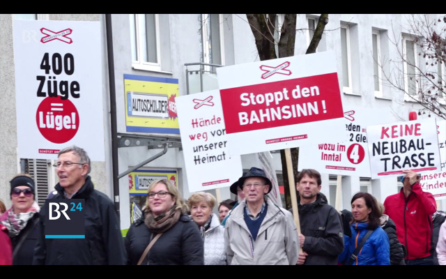 BBT-Protest in Bayern