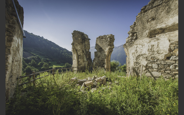 Ruinenreste