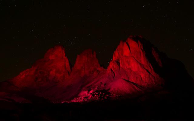 Night of Light: Langkofel