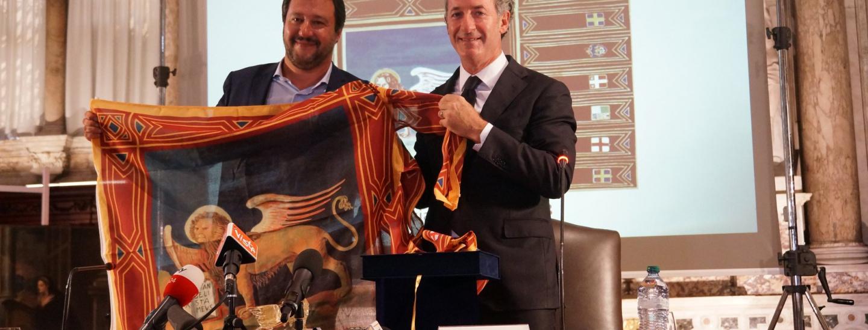 Matteo Salvini und Luca Zaia