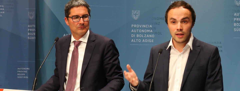 Arno Kompatscher, Philipp Achammer