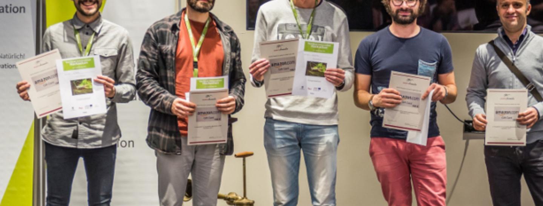 Gruppo AIRATE alla premiazione dell'Hackathon