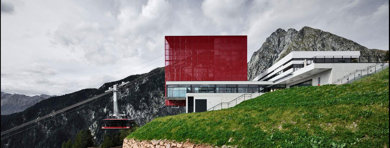 Bergbahn Meran 2000, Meran, Roland Baldi Architects