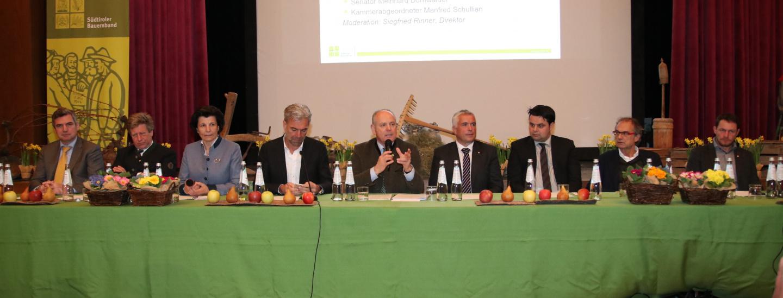 SBB-Klausur: das Podium