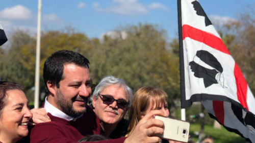 Salvini in Sardinien