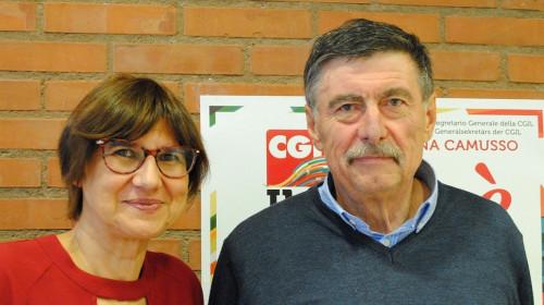 Cristina Masera e Alfred Ebner