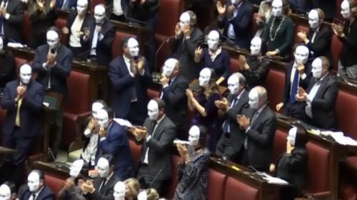 Abstimmung ddl sicurezza in der Kammer