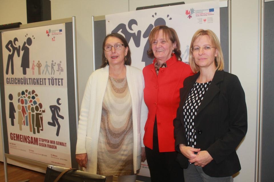 Christine Baur, Martha Stocker, Sara Ferrari