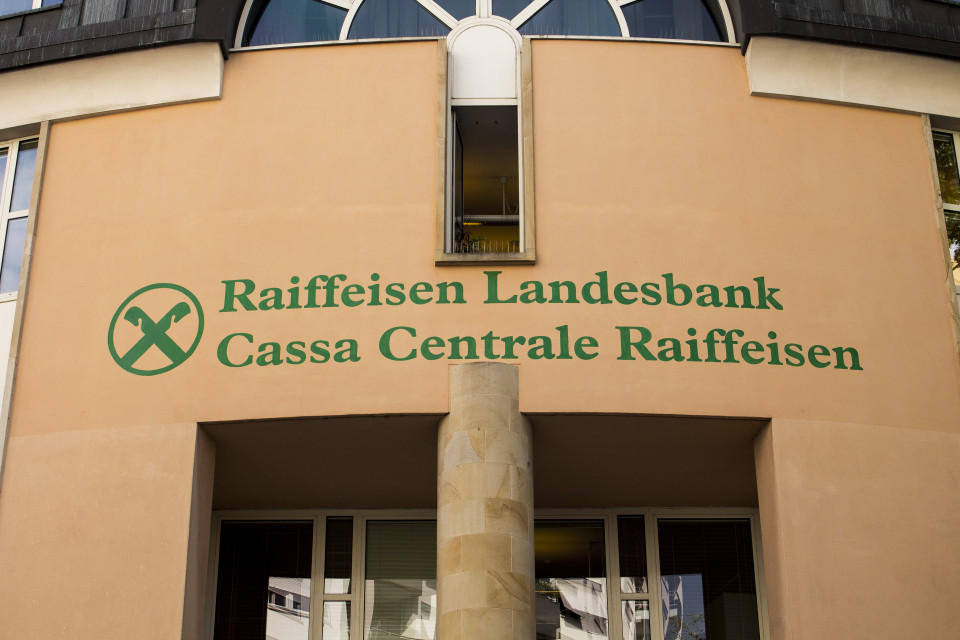 Logo Raiffeisen Landesbank