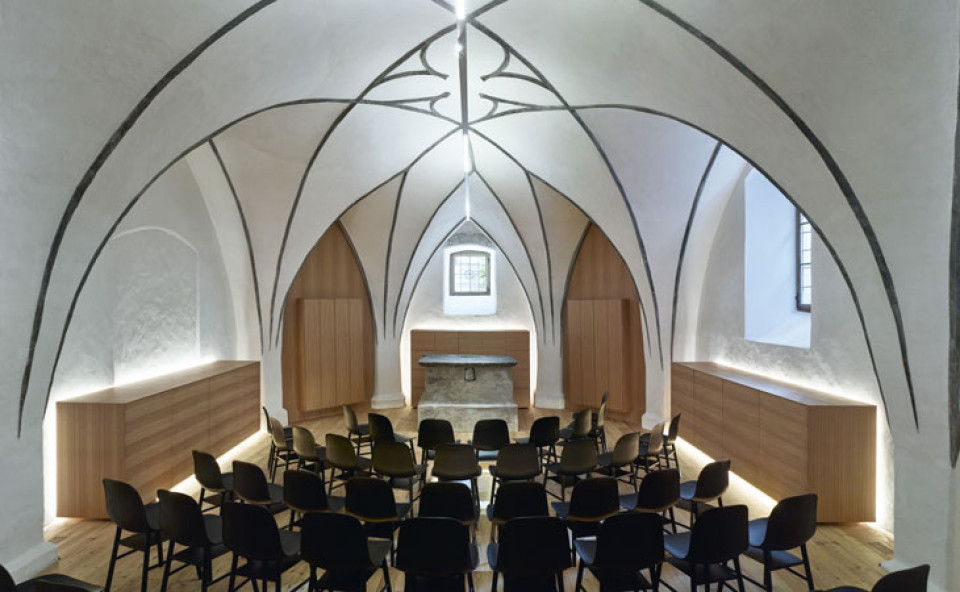Probelokal Kirchenchor Latsch_Arch. Klaus Marsoner