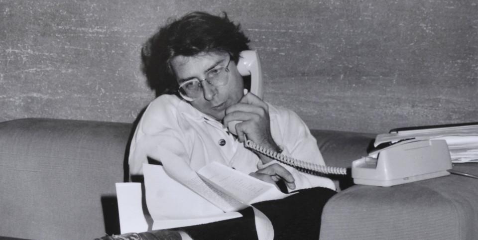 Alexander Langer im Landtag