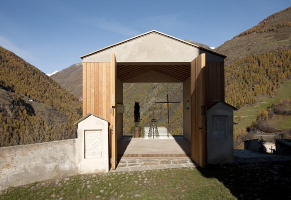 Totenkapelle in Kathrinaberg_Arch. Gapp Arnold