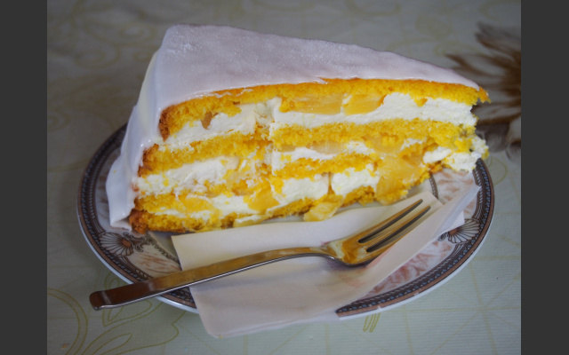 Kokos-Ananas-Torte